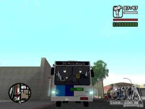 Cobrasma Monobloco Patrol II Trolerbus para GTA San Andreas vista interior