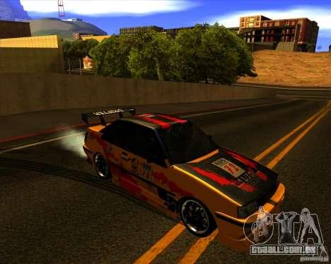 GTA VI Futo GT custom para GTA San Andreas vista traseira
