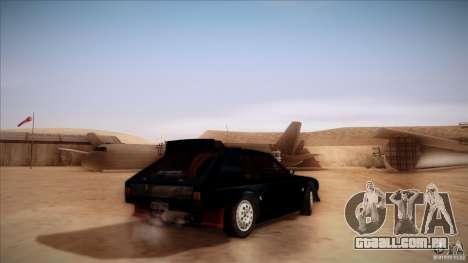 Lancia Delta S4 para GTA San Andreas esquerda vista