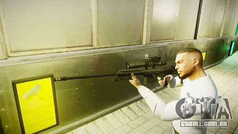 Barret 98B (sniper) para GTA 4 segundo screenshot