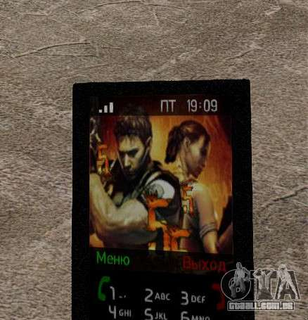 Novos temas para o seu telefone para GTA 4