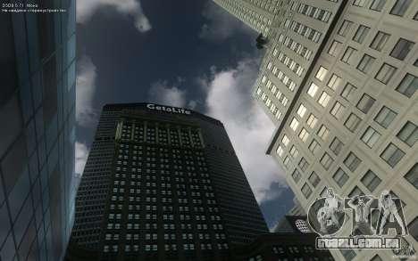 Telas de menu e inicialização de Liberty City em para GTA San Andreas segunda tela