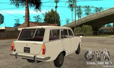 AZLK 427 para GTA San Andreas vista direita