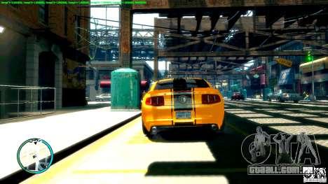 Shelby GT500 Super Snake 2011 para GTA 4 vista direita