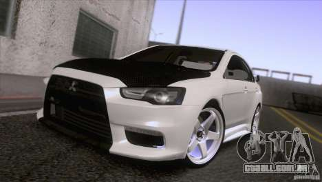 Shine Reflection ENBSeries v1.0.0 para GTA San Andreas quinto tela