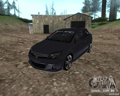 Vauxhall Astra VXR para GTA San Andreas