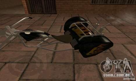 Trike para GTA San Andreas esquerda vista