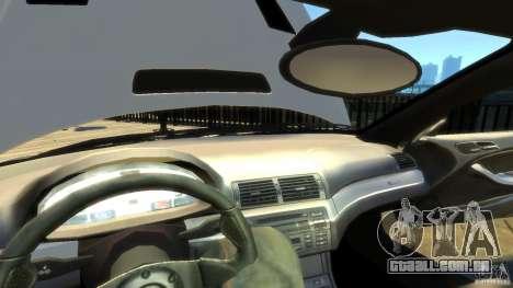 BMW E46 M3 GTR Sport para GTA 4 vista inferior