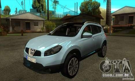 Nissan Qashqai 2011 para GTA San Andreas