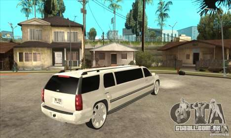 GMC Yukon 2008 para GTA San Andreas vista direita