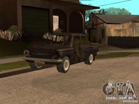 ZAZ-968 abandonado para GTA San Andreas