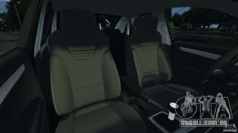 Audi RS4 EmreAKIN Edition para GTA 4 vista interior