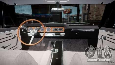 Pontiac GTO 1965 v3.0 para GTA 4 vista de volta