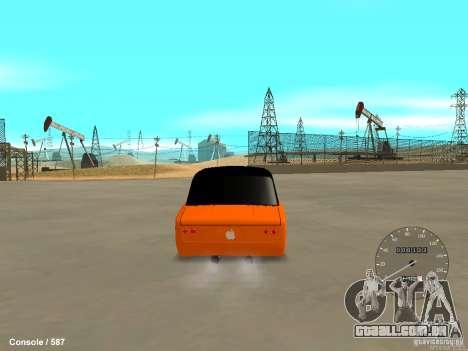 VAZ 2101 Hobo para GTA San Andreas esquerda vista