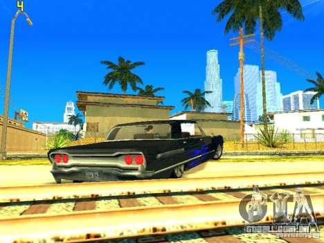 O novo gráfico por jeka_raper para GTA San Andreas terceira tela