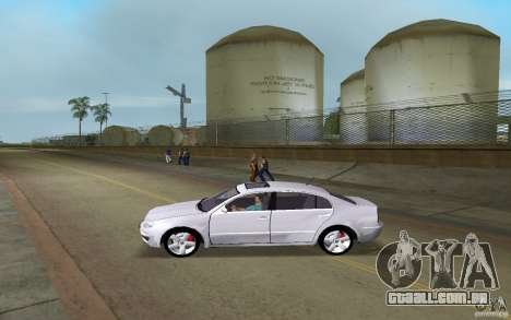 Skoda Superb 2.2 v.4 final para GTA Vice City deixou vista
