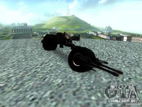 Batpod para GTA San Andreas vista direita