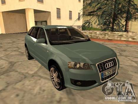 Audi S3 Sportback 2007 para GTA San Andreas