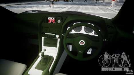 Nissan Skyline R34 Nismo para GTA 4 vista direita
