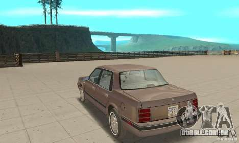 Oldsmobile Cutlass Ciera 1993 para GTA San Andreas vista direita