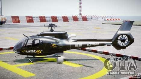 Eurocopter 130 B4 para GTA 4 esquerda vista