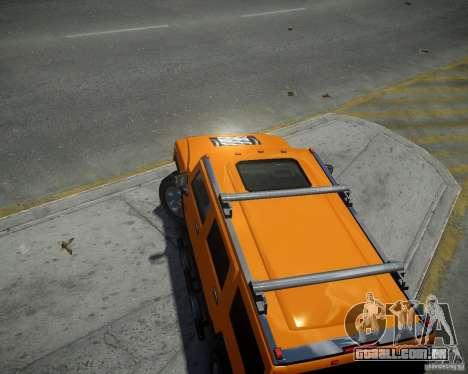 Hummer H2 2010 Limited Edition para GTA 4 vista direita