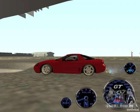 Mitsubishi 3000gt para GTA San Andreas esquerda vista