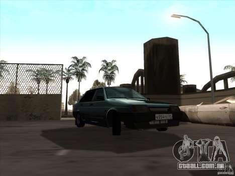 Dreno Vaz 21099 para GTA San Andreas vista direita