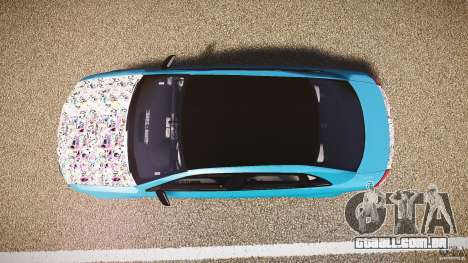Audi S4 Custom para GTA 4 vista direita
