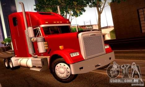Freightliner Classic XL para o motor de GTA San Andreas