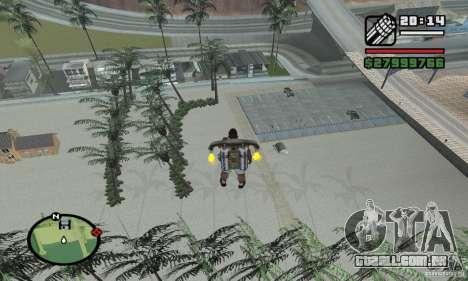Praia do paraíso para GTA San Andreas segunda tela