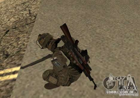 GROM Operator para GTA San Andreas segunda tela