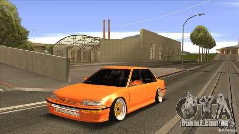 Honda Civic EF9 Sedan para GTA San Andreas
