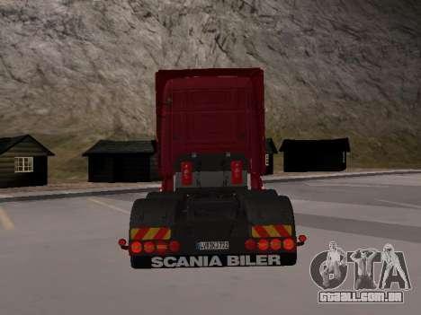 Scania 460 para GTA San Andreas vista direita