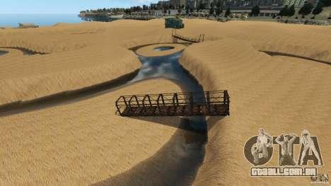 Deserto de Gobi para GTA 4 sexto tela