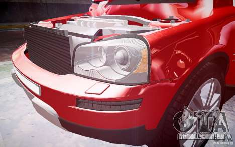 Volvo XC 90 para GTA 4 rodas