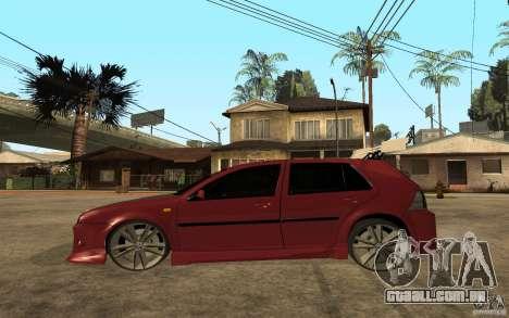 Volkswagen Golf GTI 3 Tuning para GTA San Andreas esquerda vista