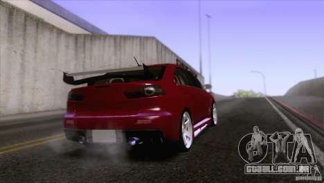 Shine Reflection ENBSeries v1.0.0 para GTA San Andreas por diante tela