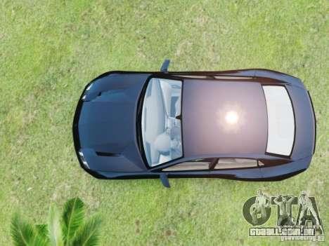 Lamborghini Estoque para GTA 4 traseira esquerda vista