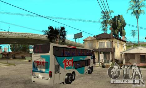 Marcopolo Paradiso 1800 G6 8x2 para GTA San Andreas vista direita