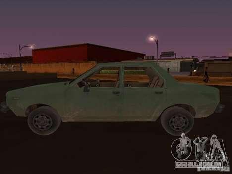 Máquina do CoD: MW para GTA San Andreas esquerda vista