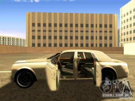 Rolls-Royce Phantom V16 para GTA San Andreas vista inferior