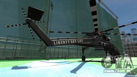 Liberty Sky-lift para GTA 4 traseira esquerda vista