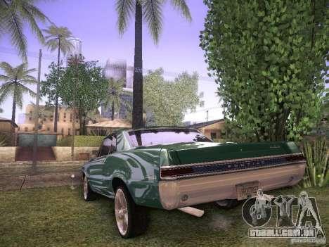 Pontiac GTO 65 para GTA San Andreas vista direita