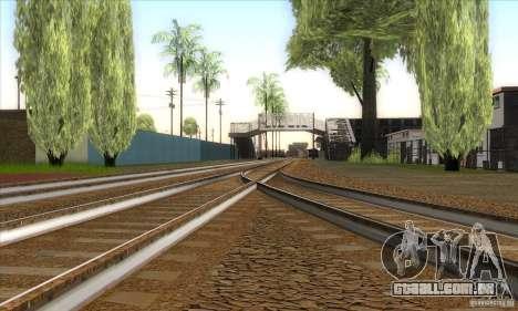 Russian Rail v2.0 para GTA San Andreas quinto tela