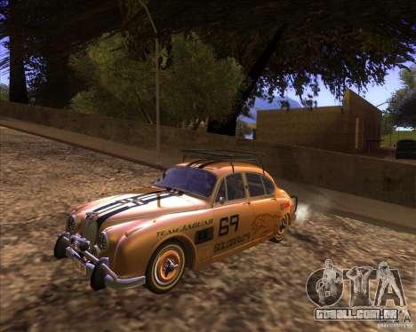 Jaguar MK2 1959-1967 para GTA San Andreas vista interior