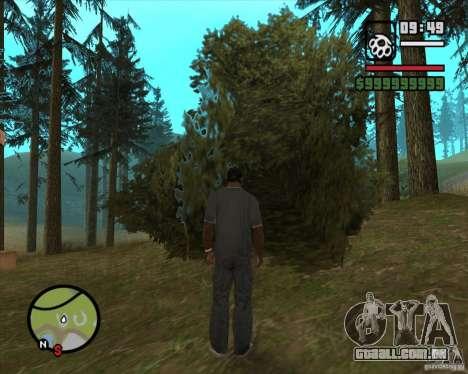 Casa caçador v 2.0 para GTA San Andreas sexta tela
