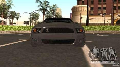 Shelby Mustang 1000 para GTA San Andreas vista direita