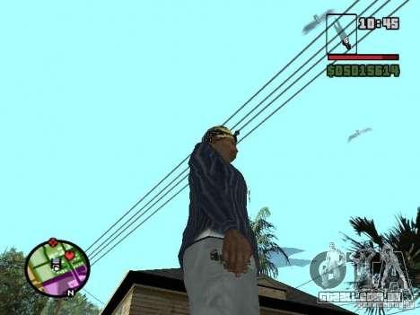 G: para GTA San Andreas segunda tela