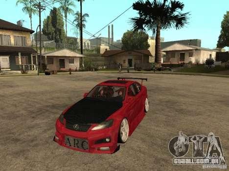 Lexus Drift Car para GTA San Andreas